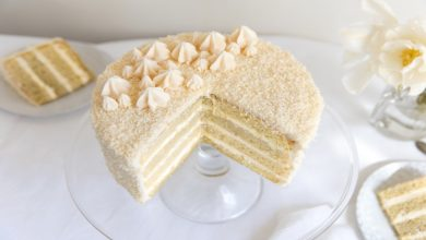 Photo of COCONUT LAYER CAKE
