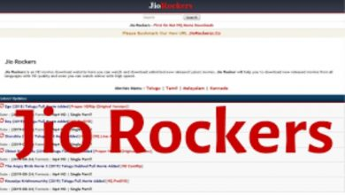 Photo of JioRockers | Elementary Outline of User Interface of Jio Rockers Tamil